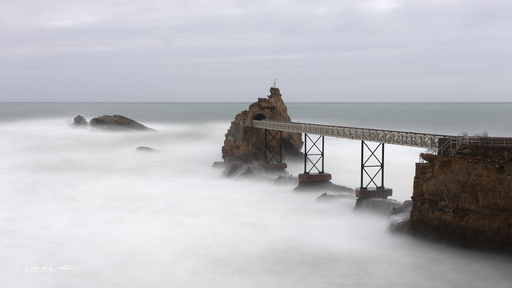 Le rocher de la Vierge-Biarritz